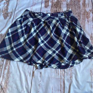 Epic Threads girls plaid skirt-blue-size small